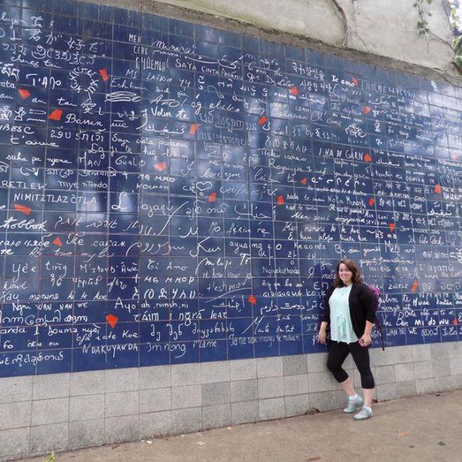 Le mur des « Je t'aime »