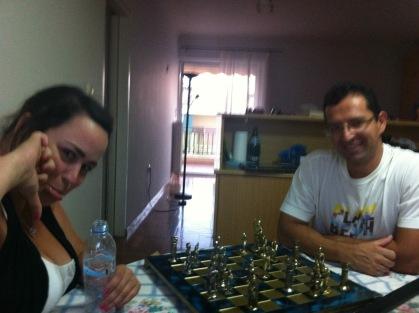 Je me fais battre aux échecs par Thanos