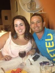 Un souper à Oia avec Sammy