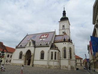 Église St-Marc, Zagreb