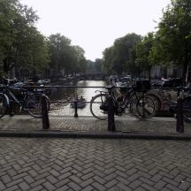Vue classique d'Amsterdam